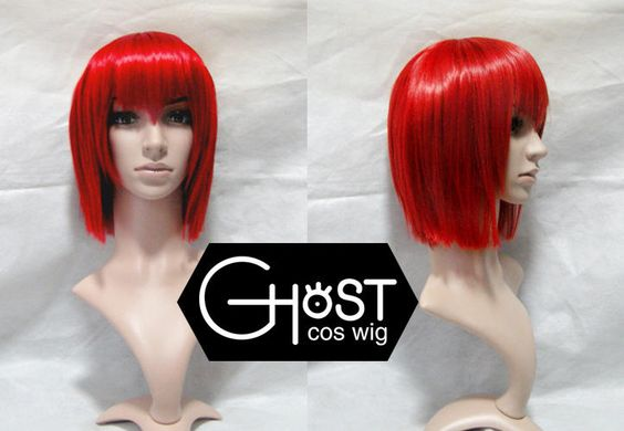Cosplay Wig - Black Butler Madam Red, Red , One Size - Ghost Cos Wigs | YESSTYLE