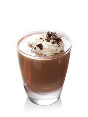 Mousse di cioccolato alla nocciola al Baileys