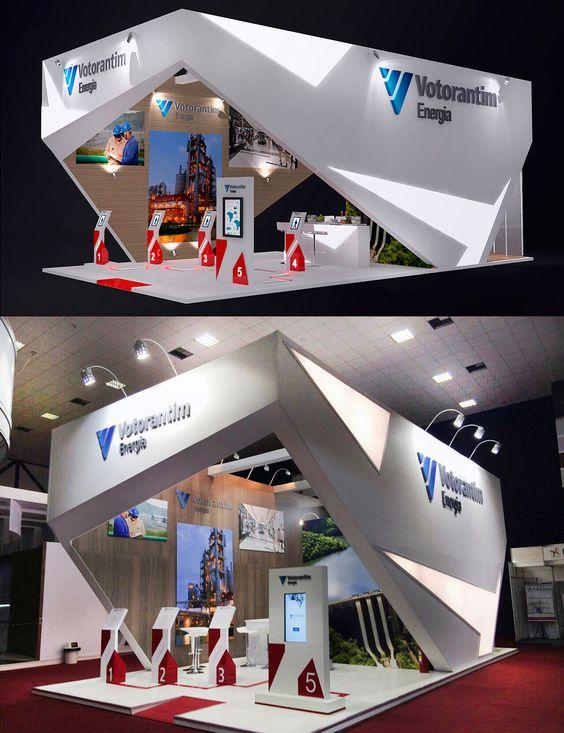 Exhibition Stand Behance : Stand promocional votorantim on behance exhibition