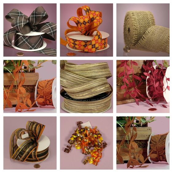 Ribbons perfect for Fall