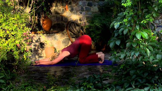 Yoga Rückbeugen Flow Deutsch
