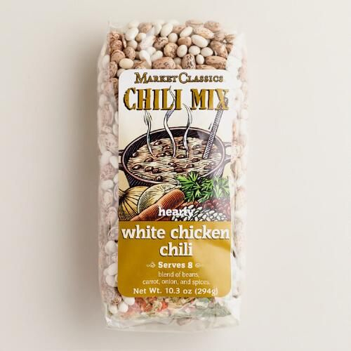 One of my favorite discoveries at WorldMarket.com: Market Classics® White Chicken Chili Soup Mix, Set of 2