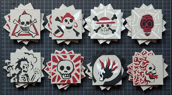 Skull and Roses (Game) on Behance