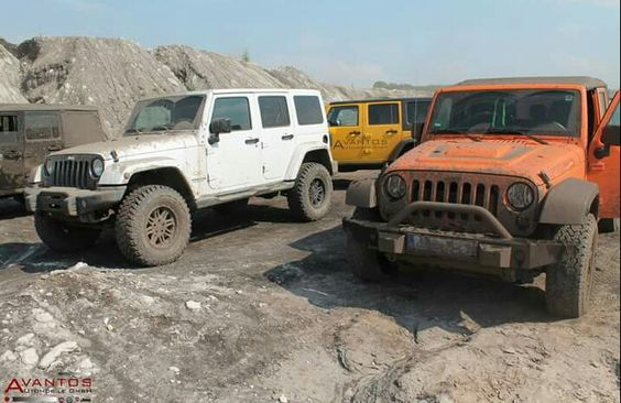 2015 Offroad in Profen...  unsre Jeep Wrangler in ihrem Element