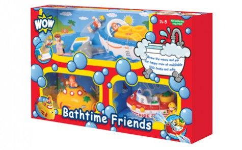 Great for bathtime