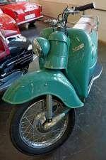 Progress Strolch 175, Baujahr 1956, Motor mit 175ccm und 9PS, Vmax.90Km/h, ca.14.000 Stück wurden in Oberkirch/Baden gebaut, Automuseum Schramberg, Mai 2012