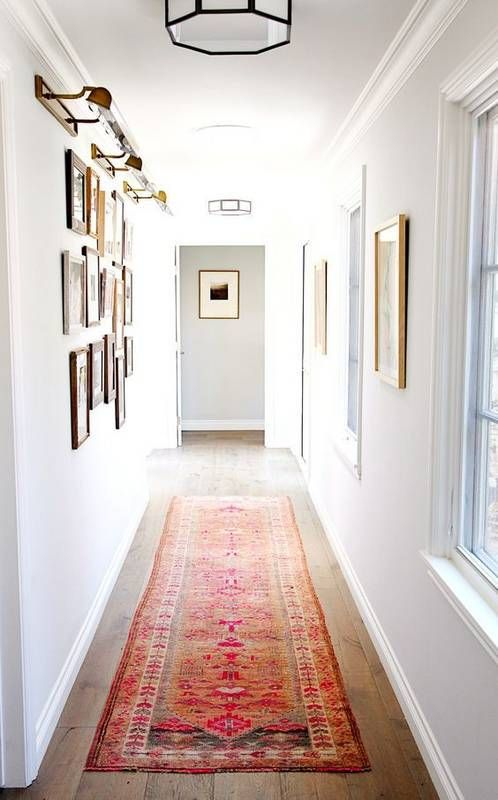 Long Narrow Foyer Designs : What to do with your long narrow hallway home hallways