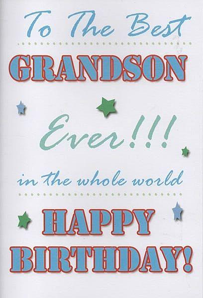 Birthday Cards Male Relation Birthday Cards Grandson To The – Birthday Cards Grandson