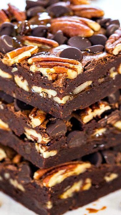 Turtle brownies, Turtles and Brownies on Pinterest