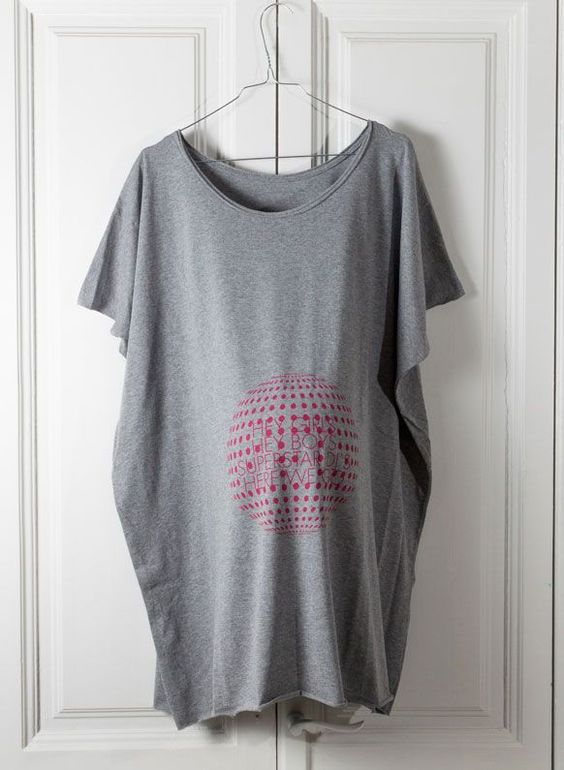 Dressmadre camisetas premamá con estilo http://www.minimoda.es