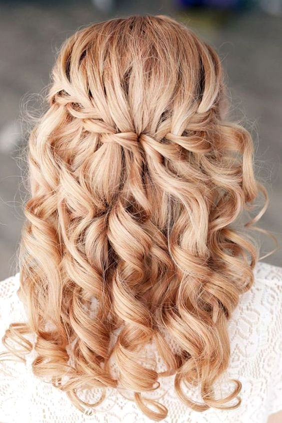 Favourite Wedding Hairstyles For Long Hair ❤ See more: http://www.weddingforward.com/wedding-hairstyles-long-hair/ #weddings: