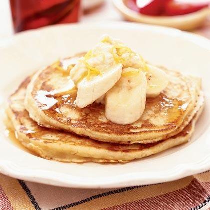 Refreshing Lemon-Ricotta Pancakes | MyRecipes.com