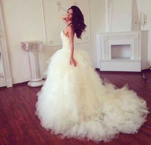 Image via We Heart It #bride #fashion #wedding #weddingdress ...