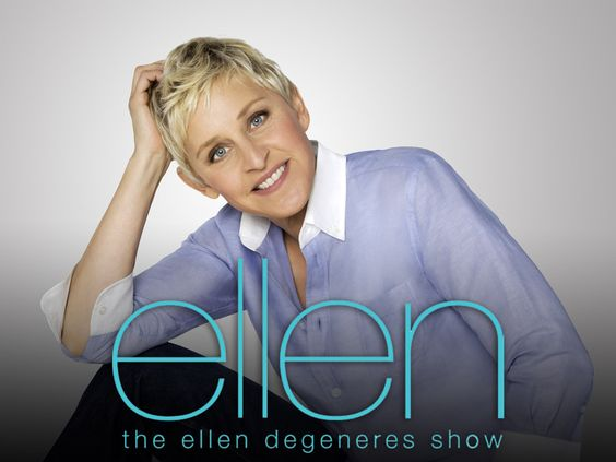 Did you know Ellen has her own Pinterest page now? Just click the picture, I've inserted a link to it.