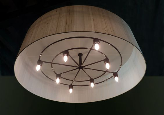 Silk Chandelier 140x40xm Lamp Shade