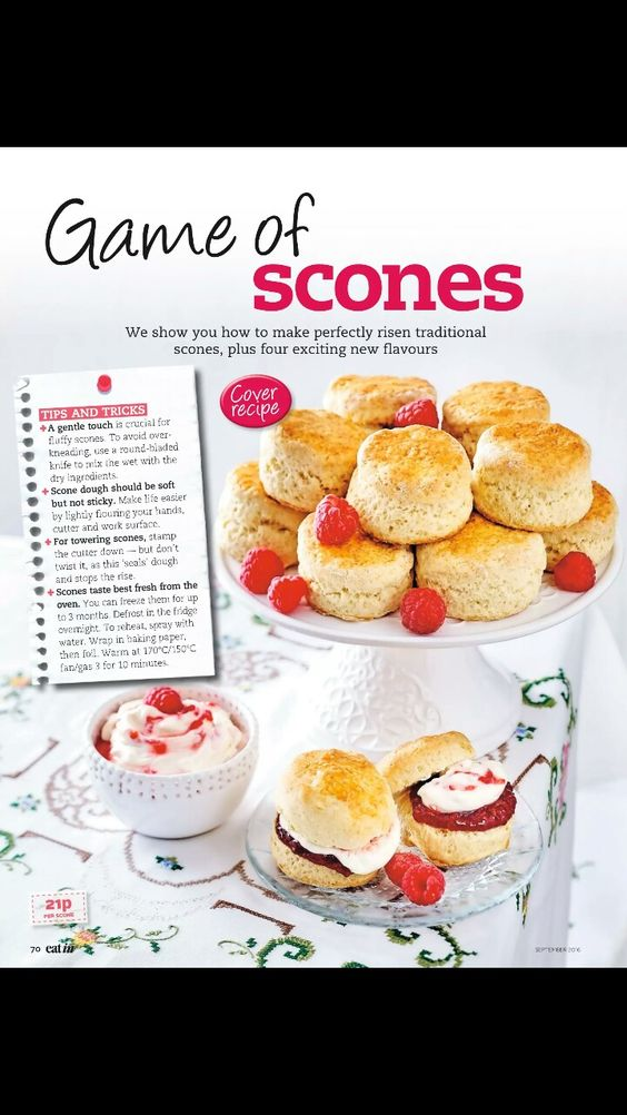 Scones tips and tricks