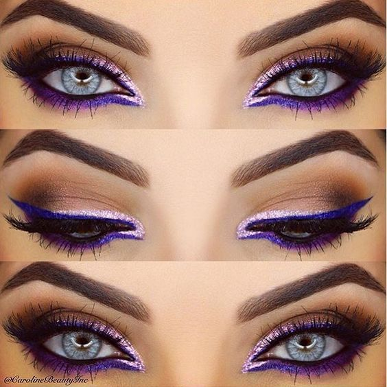 that purple liquid eyeliner = gorgeous!! @alwaysjennuine