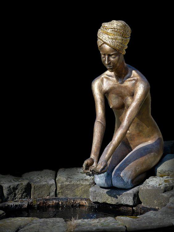 Moderne realistische Skulpturen von Wolfgang Stiller
