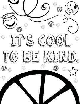 Free Kindness Coloring Pages With Images Coloring Pages Coloring Pages Inspirational Cool Coloring Pages