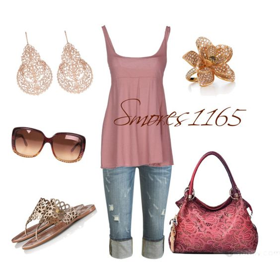 """""""Dusty Rose"""" by smores1165 on Polyvore"""