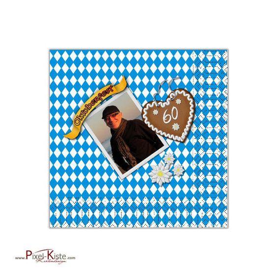 Serviette zum Oktoberfest individuell bedruckt mit Ihrem Motiv online bestellen  #Bavaria #Oktoberfest #Servietten #Geburtstag