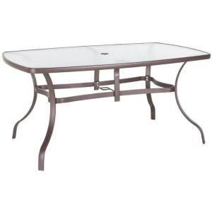 38 in x 60 in glass top steel dining table t for K and t dining 98 inc