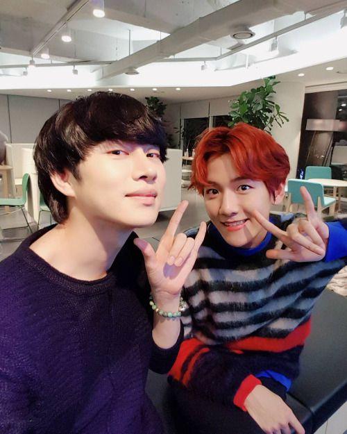 Baekhyun - 161102 Super Junior member Heechul's Instagram update
