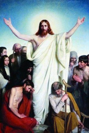 Christus Consolator  - Carl Bloch: Art Oils, Oil Paintings, Art Paintings, Art Jesus Christ, Art Carl Heinrich, Bloch Carl, Bloch Paintings The, Bible Art