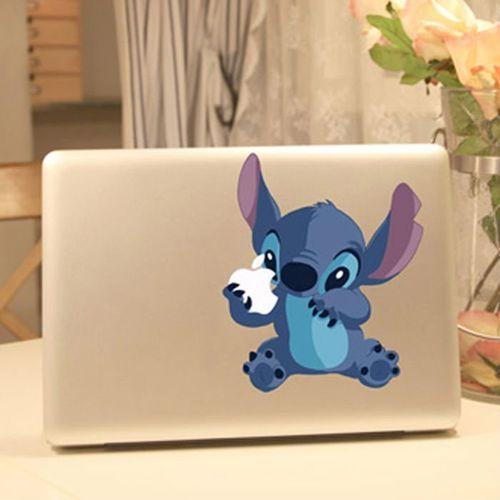 Stitch Vinyl Laptop Sticker $14.99 #Disney #LiloAndStitch #Products WANT!