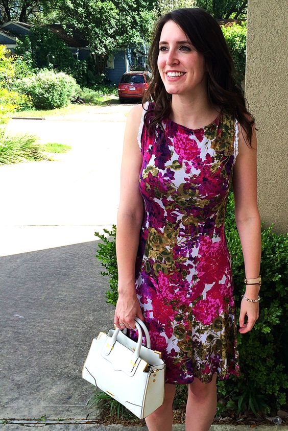 DIY Fit and Flare Sun Dress Tutorial by Bunny Baubles Blog
