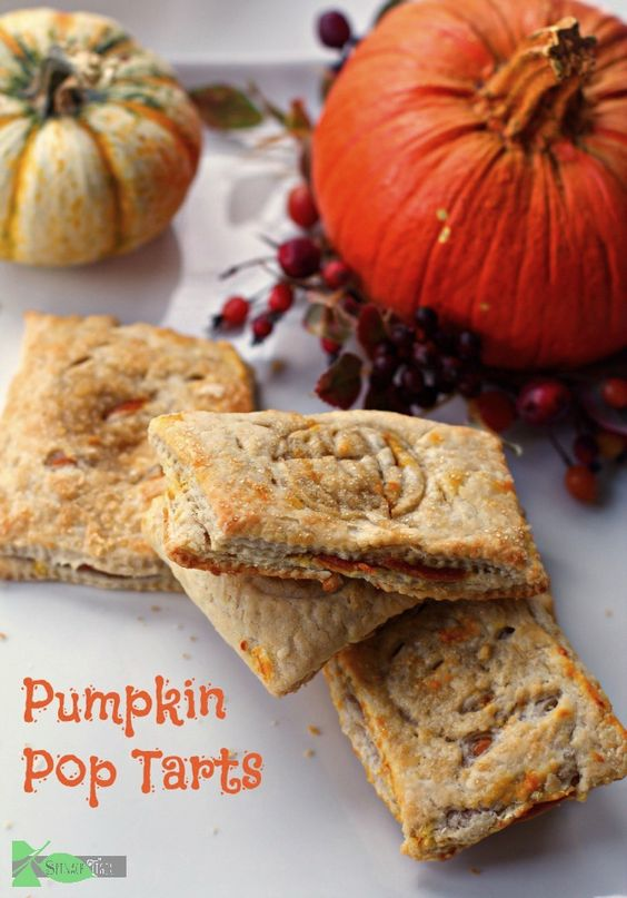 Pumpkin Pop Tarts, Way Better than Pumpkin PIe. Pumpkin Recipe by ...