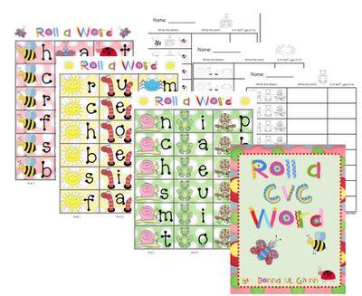 Roll a CVC word