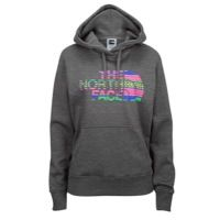 The North Face Half Dome Hoodie - Women's - Grey / Pink
