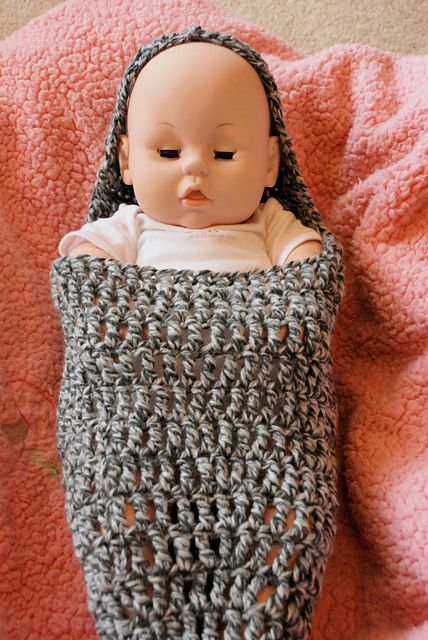 Crochet Pattern Baby Cocoon With Hood : Crochet cocoon FREE pattern projects Pinterest Free ...
