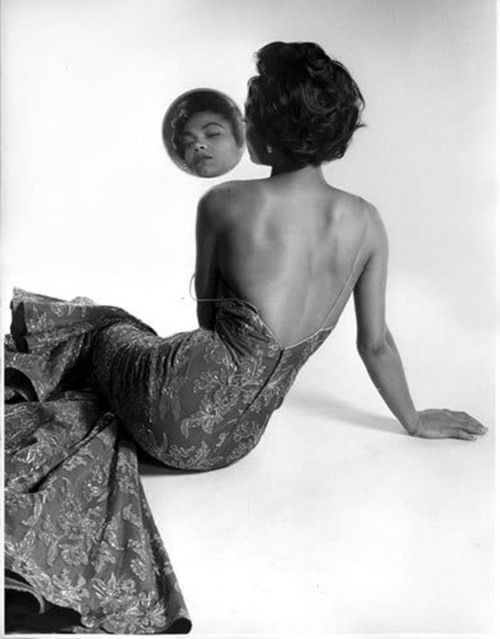 Eartha Kitt by Philippe Halsman, 1954.