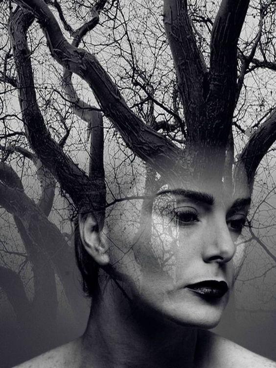 12 Poetic Double Exposure Portraits by Erkin Demir | UltraLinx