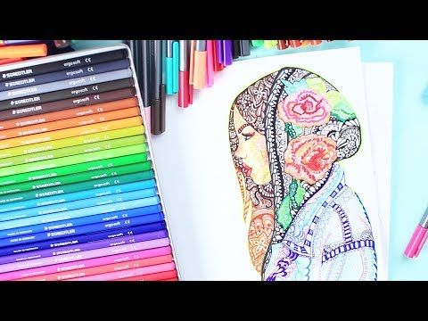 100 Stifte Challenge Mandala Malen Staedtler Stifte Haul Foxy Draws Youtube Mandalas Malen Foxy Draws Staedtler Stifte