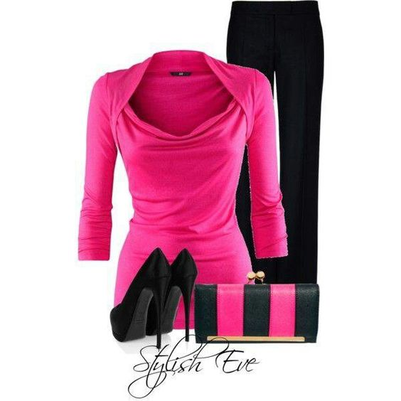 Love rose pink and black