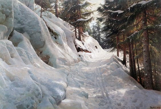 Peder Mork Monsted (Danish 1859-1941) SHEAR [in-spuh-rey-shuhn]: Photo