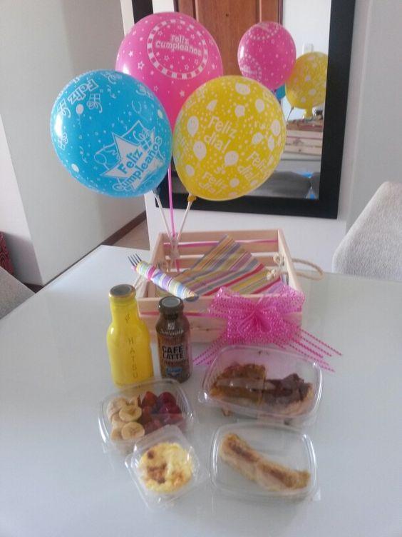 Desayuno sorpresa desayunos sorpresa pinterest - Sorpresas de cumpleanos ...