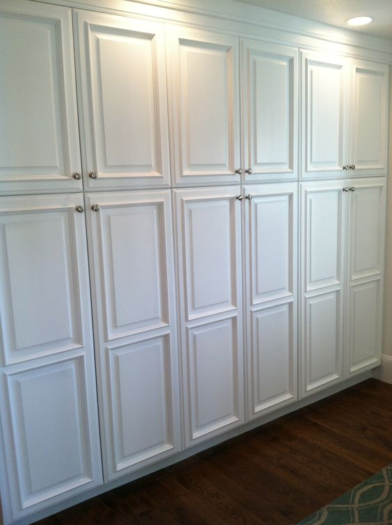 Closets Instead Of Kitchen Cabinets