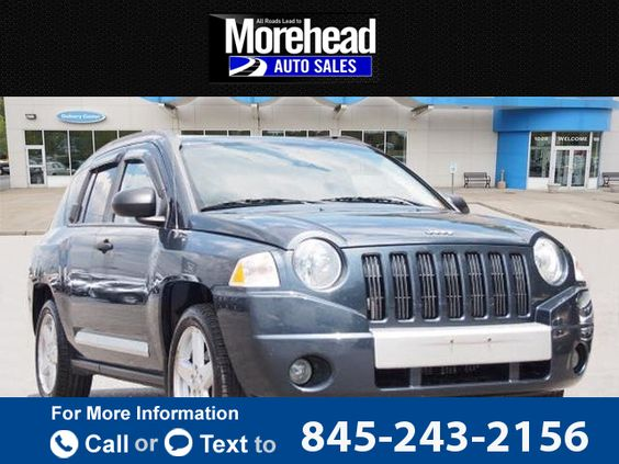2008 *Jeep*  *Compass* *Limited*  71k miles Call for Price 71098 miles 845-243-2156 Transmission: Automatic  #Jeep #Compass #used #cars #MoreheadAutoSales #Newburgh #NY #tapcars