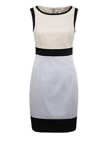 Kleid im Color Blocking-Look von s.Oliver. Entdecken Sie jetzt topaktuelle Mode für Damen, Herren und Kinder online und bestellen Sie versandkostenfrei.