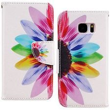 S7 Edge Case, Galaxy S7 Edge Wallet Case, iYCK Premium PU Leather Flip Folio for: