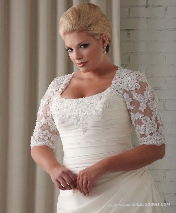 Plus size wedding dresses online cheap