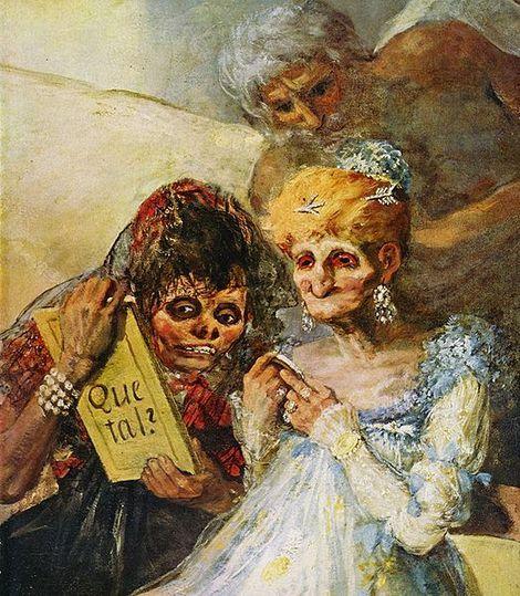 Francisco Goya, unknown on ArtStack #francisco-goya #art