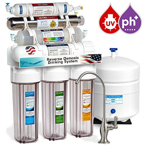 Express Water 11 Stage Reverse Osmosis Drinking Water Filter System With Alkaline Remin Reverse Osmosis Water Filter Reverse Osmosis Water Osmosis Water Filter