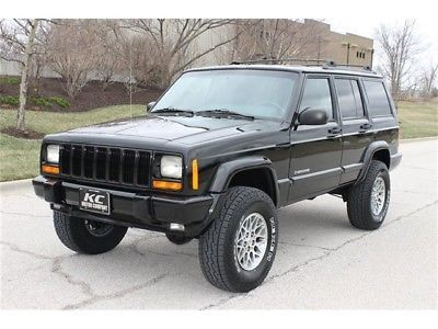 Ebay Cherokee Limited 4dr 4wd 1999 Jeep Cherokee Limited Xj 4wd Fresh Lift New Tires 2 Owner Very Low Mi Jeep Jeeplife