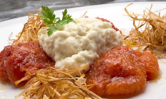 Receta de brandada de bacalao con tomates asados recipe chang 39 e 3 - Cocinar bacalao congelado ...