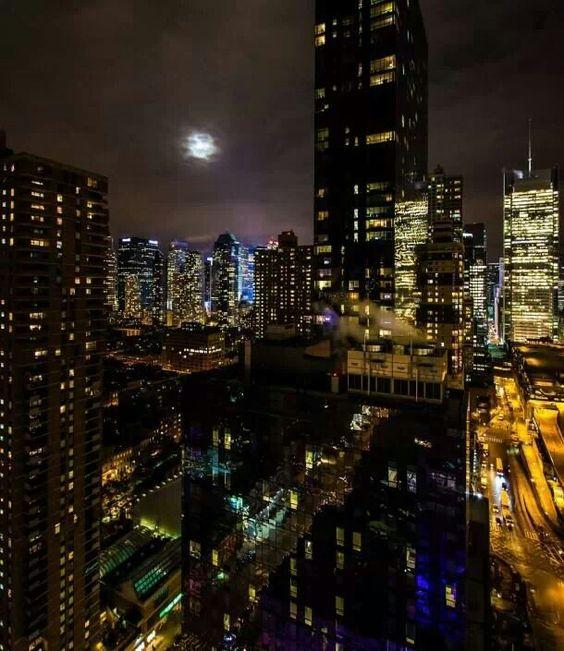 The Bronx at night